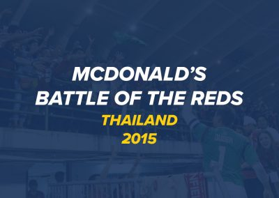 McDonalds Battle of the Reds Tour | Thailand 2015