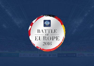 Battle of Europe | Singapore 2016