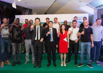 Masters Football England Tour of Hong Kong 2016