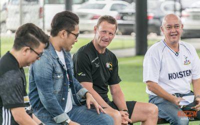 Teddy Sheringham wows Thai fans with Football Focus TV5