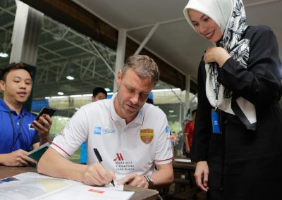 Player appearances with Masters Football Asia