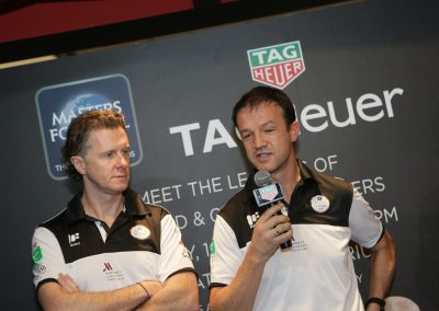 Creating brand awareness with the Masters Football Asia legends