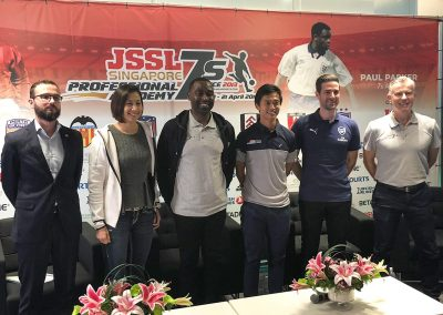 Andy Cole visits Singapore with Masters Football Asia