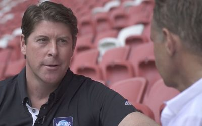 Darren Anderton in Singapore ahead of Spurs-Arsenal derby