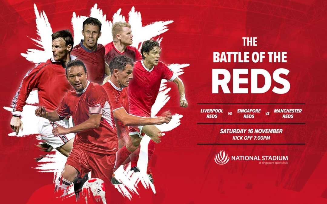 See the Reds collide at the Battle of the Reds 2019