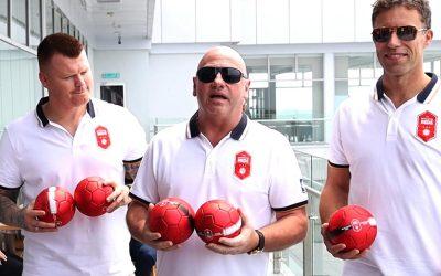 Ronny Johnsen and John Arne Riise meet fans in Kota Kinabalu